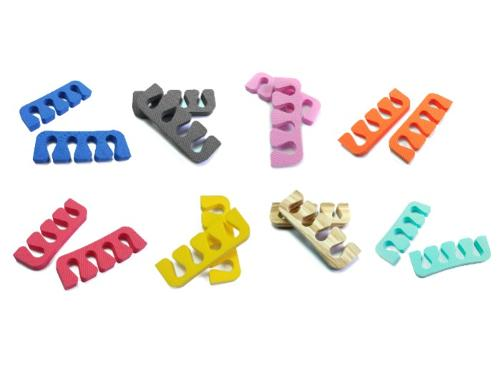 Toe separators for pedicure