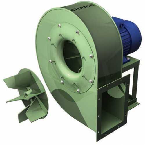 GCS • Ventilateur moyenne pression type GCS - Transmission directe