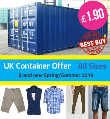 الرجال والسيدات الربيع / الصيف الملابس بالجملة حاويات العرض