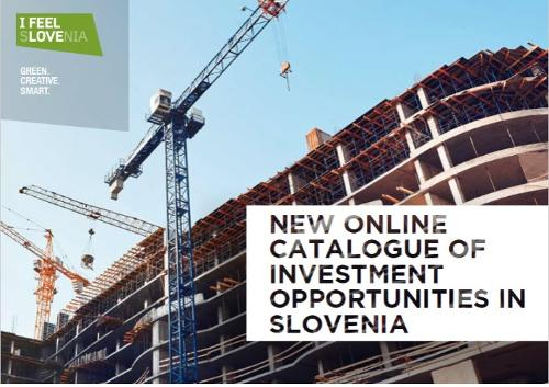 The online catalogue of investment opportunities in Slovenia