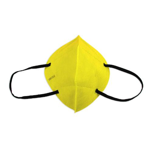 Pack 5 Unidades Mascarilla 20 Lavados Amarilla