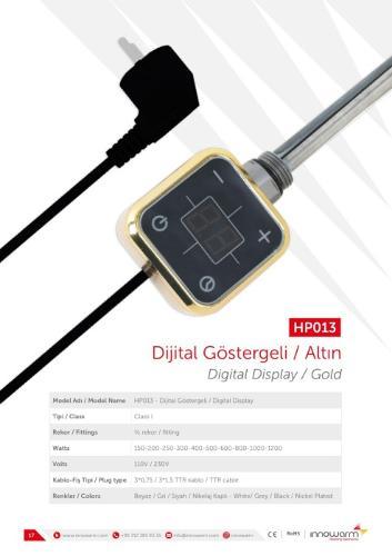 HP013 Gold