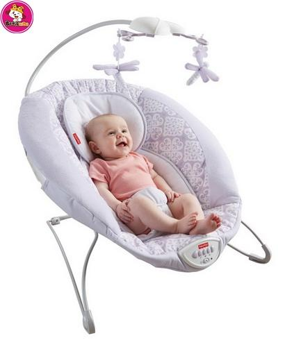Rocker bouncer electric vibrating baby rocking chair