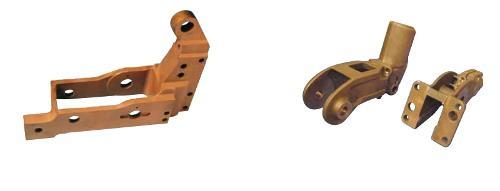Arms for welding guns