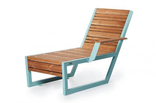 Bench «Boston» (Sun lounger) left armrest
