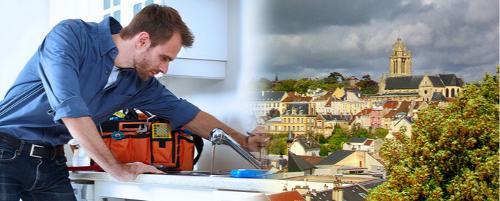 Dépannage plombier à Pontoise (95000)