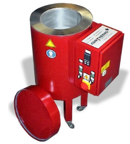 Elektro-Schmelzbehälter