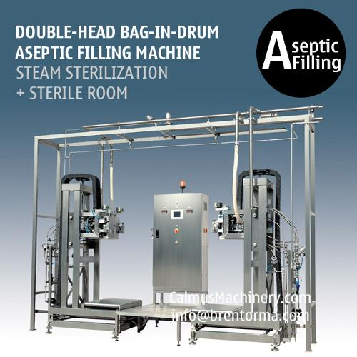 Double-Head Bag-in-Drum Aseptic Filling Machine