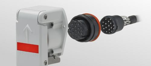 Электрические соединители Серия UIC 558 VE