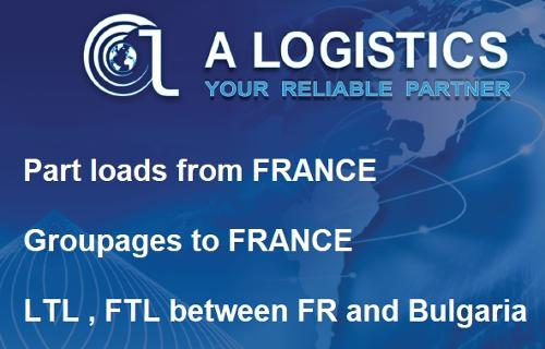 PART LOADS FRANCE to BULGARIA