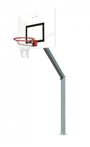 Buts De Basket Extérieur 100 X 100 Mm Hauteur 3.05 M