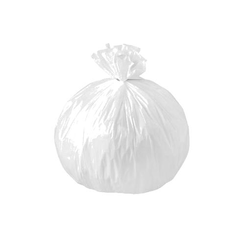 Sac poubelle 30 litres blanc 30µ