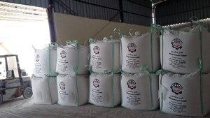 Dolomite calcined