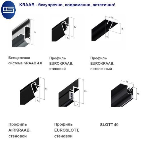 Stretch ceiling accessories