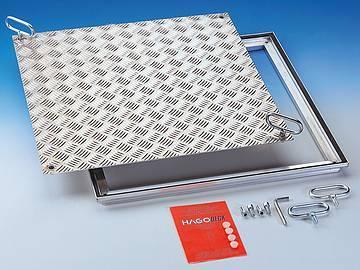RVA Aluminium Sealed cover