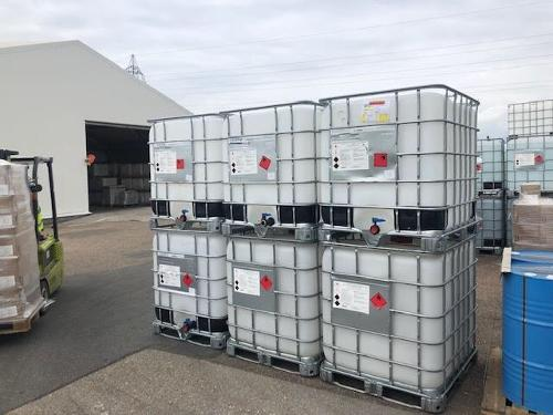 Cuve IBC gel hydroalcoolique 1000L