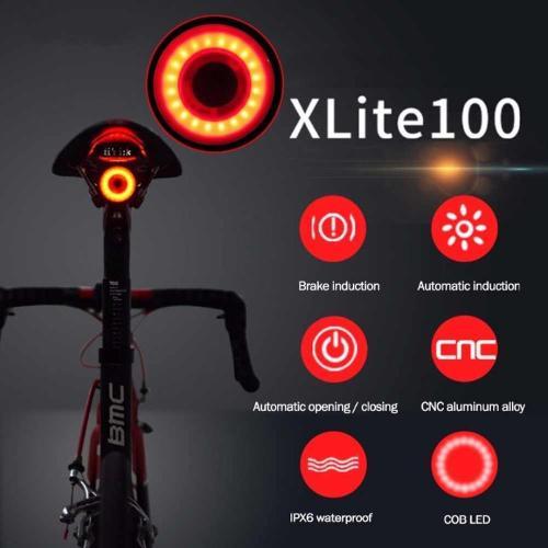 luce posteriore bicicletta