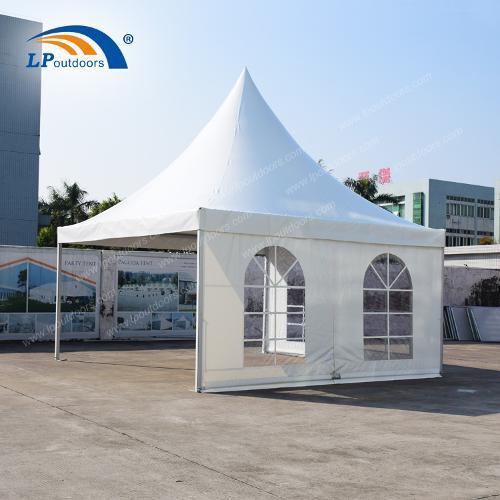 Tente de pagode de 5x5m de haut pour les événements promotio