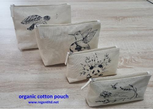 bolsa de algodão orgânico