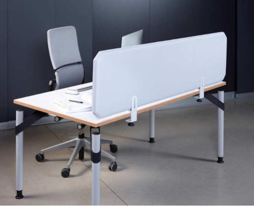 Oktagon Schreibtisch Trennwand - Schallschutz im Home Office