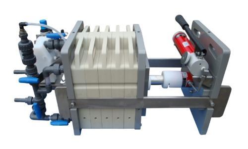 Konventionelle manuelle Filterpressen