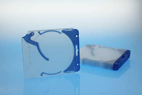 Ejector Case inkl. Abheftclip - 5erPack - blau