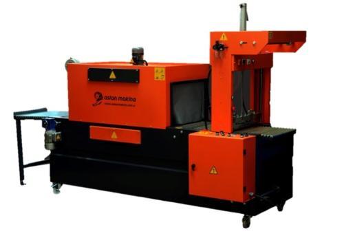 SEMI-AUTOMATIC   POLETHYLENE SHRINK WARP MACHINERY