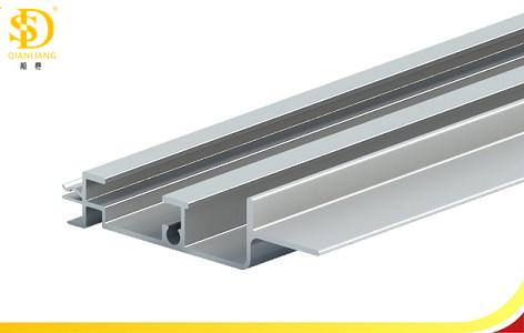 Aluminium rails for sun roof
