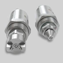 Spray and spit nozzles