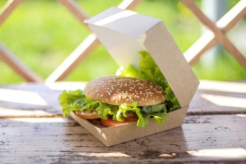 Packaging for burgers