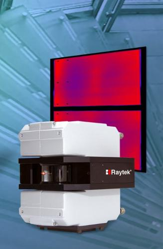 Raytek GS150/GS150LE imageur thermique – industrie du verre