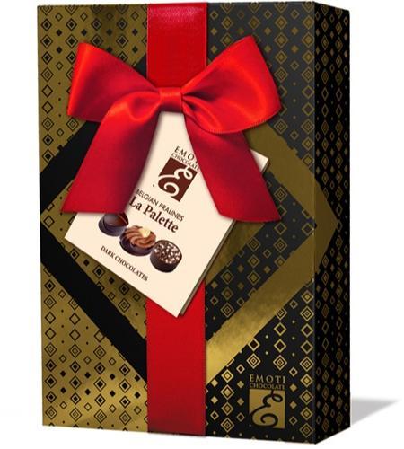EMOTI Dark Chocolates, Gift packed, 120g. SKU: 016238r