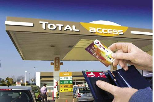 Carte professionnelle carburant