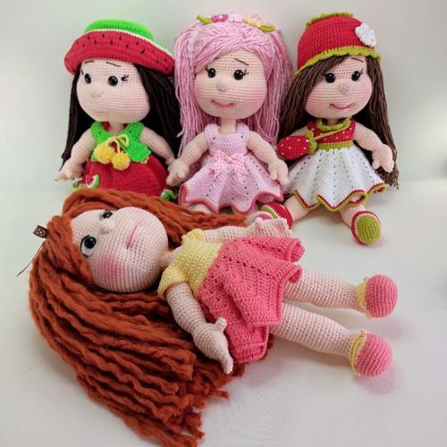 Amigurumi El Örgüsü Oyuncak Bebek Modelleri
