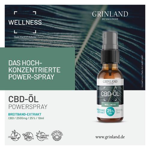 CBD-ÖL - BREITBAND-EXTRAKT / CBD 25% - 10 ml