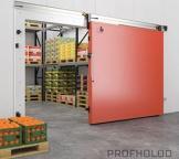 Sliding Fireproof Refrigeration Door