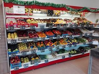 Scaffalatura Per Negozi Frutta e Verdura