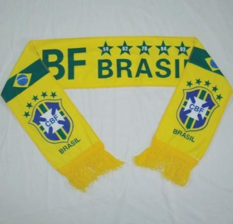Football fans knitted scarf