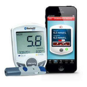 SIFGLUCO-3.1 PORTABLE BLUETOOTH BLOOD GLUCOSE METER