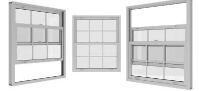 Aluminium Sash window system