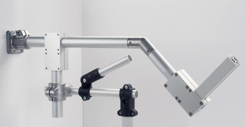 Raccords tubulaires en aluminium, plastique, acier inoxydab