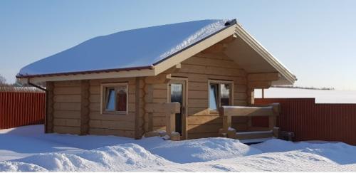 Wooden house, sauna