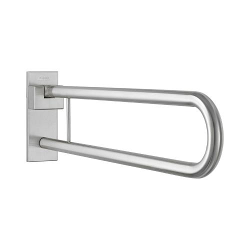 Bf670 Hinged Support Rail 850mm Satin