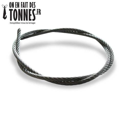 Câble acier galvanisé 7x19