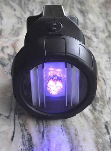 Latarka UV LED 9W do klimatyzacji szukania bursztynów krwi
