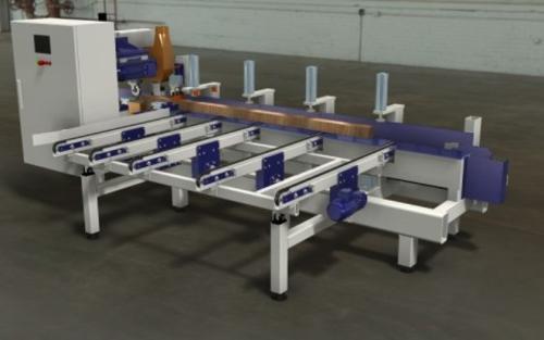 CNC-Kantholzfräsmaschine
