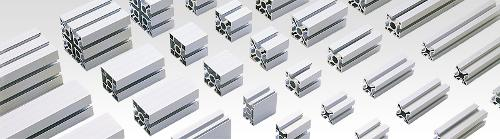 Aluminium profiles for mechanical engineering
