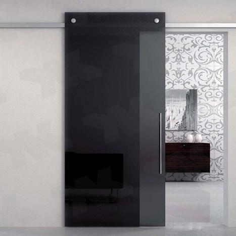 V-6450 - wall, sliding door set with soft-close