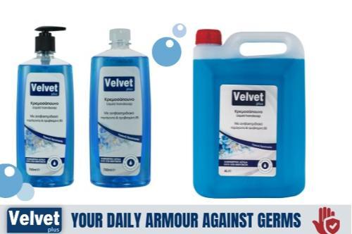 Velvet plus Liquid Handsoap