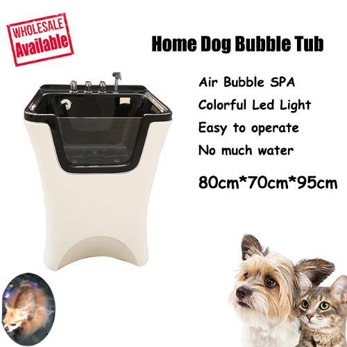 Acrylic Multi-functional Pet Bubble Spa Bathtub,Dog Grooming